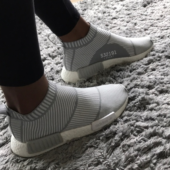 4ee5d2612 adidas Shoes - Adidas NMD CS1 City Sock PK Primeknit White Grey